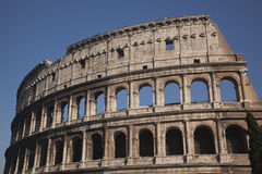 Details Colosseum Rome Italië Royalty-vrije Stock Foto
