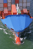 Details of a container ship Royalty Free Stock Photos