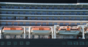 Details of Cruise Ship Stock Image