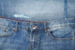 Details of denim Royalty Free Stock Photo