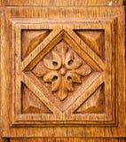 Details der alten hölzernen Tür Stockfotografie