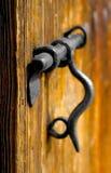 Details der alten Metallschraube Lizenzfreie Stockfotografie