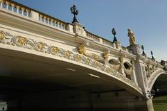 Details der Bogenbrücke lizenzfreies stockbild