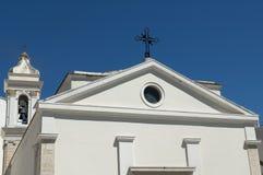 Details der katholischen Kirche Lizenzfreies Stockbild