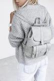 Details der minimalistic Modeausstattung Stockbild
