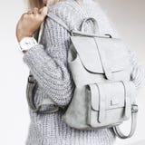 Details der minimalistic Modeausstattung Lizenzfreie Stockfotos