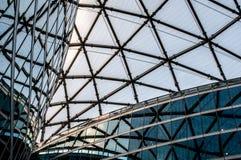 Details der modernen Architektur, Glasbürogebäude stockbilder