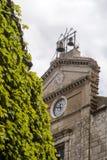 Details der Mutterkirche von polizzi generosa Stockfotos