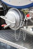 Details der neuen Abwasser-LKW-Ausrüstung, Industrieventile Lizenzfreie Stockbilder