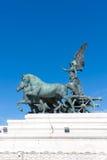 Details des Monuments von Vittorio Emanuele in Rom, Italien Stockfotos