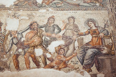 Römisches Mosaik in Paphos, Zypern stockfoto