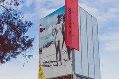 Details des Stadtzentrums im Surfer-Paradies auf dem Gold Coast Lizenzfreies Stockbild