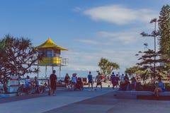 Details des Stadtzentrums im Surfer-Paradies auf dem Gold Coast Lizenzfreie Stockbilder