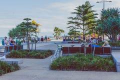 Details des Stadtzentrums im Surfer-Paradies auf dem Gold Coast Stockfoto