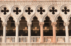 Details of Doge's Palace, Venice, Italy Stock Photography
