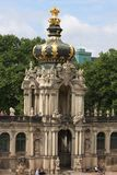 Details of Dresden`s Zwinger Palace is famous around the world for its beautiful baroque architecture. It was built in 1709 during Stock Photos