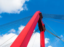 Details of a Dutch bridge Royalty Free Stock Photography