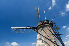 Details of a dutch windmill Royalty Free Stock Photo