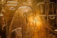 Details from an Egyptian museum Royalty Free Stock Images