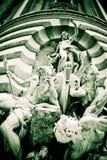 Details eines britischen Palastes Stockbilder