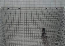 Details eines Gebäudes Stockfotos