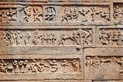 Details eines Tempels Stockbilder