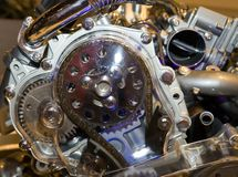 Details, elements of engine Royalty Free Stock Photo
