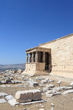 Details of Erechtheum temple Royalty Free Stock Photography