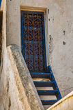 Details of Essaouira, Morocco. Details of the roof terrace home in Essaouira, Morocco Royalty Free Stock Photos