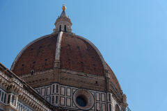 Details of the exterior of the Cattedrale di Santa Maria del Fiore Cathedral of Saint Mary of the Flower. Royalty Free Stock Photos
