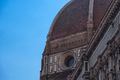 Details of the exterior of the Cattedrale di Santa Maria del Fiore Cathedral of Saint Mary of the Flower. Details of the exterior of the Cattedrale di Santa Stock Photo