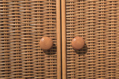 Details of fabric cabinet Stock Photo