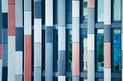 Details of facade of contemporary building Royalty Free Stock Photos