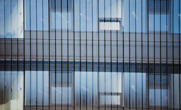 Details of facade of contemporary building Royalty Free Stock Photography