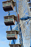 Details of ferris wheel on the Oktoberfest in Munich Stock Photography