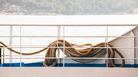 Details from the ferry boat Royalty Free Stock Photos