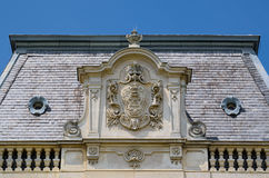 Details of Festetics Palace in Keszthely town, Hungary Stock Images