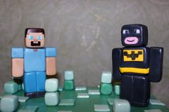 Details of figurines from mastic stock photography
