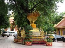 Details of fine arts at Buddhist temple. A beautiful details of fine arts at Buddhist temple stock image