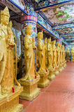 Details of fine arts at Buddhist temple Stock Image