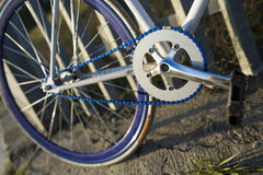 Details of fixed bike Stock Images