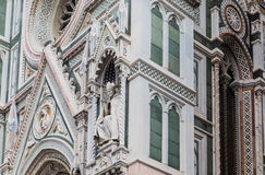 Details of Florence Cathedral, Florence Stock Photo