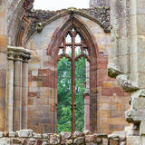 Details of an forgotten old Scottish Abbey Royalty Free Stock Photo