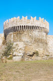Details of the Fortress of Populonia Stock Photography