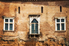 Details of Forum of Augustus Foro di Augusto in Rome Royalty Free Stock Photos