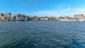 Details and fragments in the Village of Volendam. Netherlands Royalty Free Stock Photo