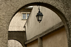 Details of french architecture Stock Images