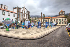 Details of Funchal Stock Photo