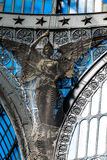 Details of gallery Umberto I, Naples , Italy Royalty Free Stock Image