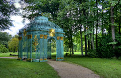 Details of the gazebo at Park Sanssouci in Potsdam Royalty Free Stock Image